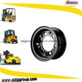 5.50-16 6.60-16 bordes de 7.00-16 carretillas elevadoras/ruedas de acero de 10inch