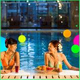 Bola LED resistente al agua helada superficie de jardín, piscina