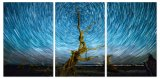 Pintura acrílica das multi cópias cénicos da arte da parede da pintura da impressão dos painéis, pintura de vidro, pintura da lona
