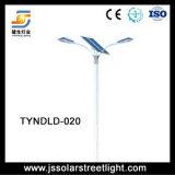 Única luz de rua solar do diodo emissor de luz do braço 40W 6m picovolt para ao ar livre
