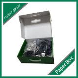 Caixa material do empacotamento comercial de papel ondulado