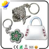 La migliore vendita della catena chiave del metallo di figura del trifoglio dei quattro fogli