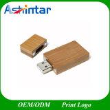 Usb-Stock-Flash-Speicher Thumbdrive hölzernes USB-Blitz-Laufwerk