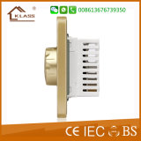 Commutateur de régulateur d'éclairage de lumière d'acier inoxydable de balai de fournisseur de la Chine