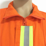 Workwear прочной Срывать-Упорной работы индустрии пожаробезопасный с карманн/кнопкой/шнуром/крышкой
