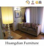 Muebles de madera modificados para requisitos particulares del dormitorio del hotel del diseño simple fijados (HD001)