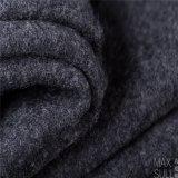 100% ahuecado Tejido de lana en gris