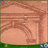 Tela cega impermeável tecida matéria têxtil do jacquard do franco da tela do poliéster para a cortina de indicador