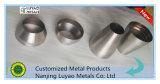 Giro de metal do CNC, em que folhas do aço e do aço inoxidável