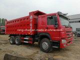 25-30 톤 수용량을%s 가진 사용된 Sinotruk HOWO 덤프 트럭