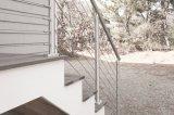 De woon Leuning van de Trede van het Balkon van het Roestvrij staal voor Trappen