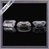 9*7 E/F rimuovono il diamante bianco di Moissanite del taglio dello smeraldo di Crisscut