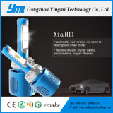 고성능 안개 Headlamp Csp LED H11 영사기 요점 헤드라이트