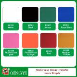 Excellent vinyle de transfert thermique de PVC de qualité de Qingyi