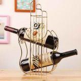 Шкаф вина подарка декора металла домашние и держатель вина