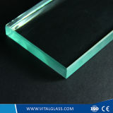 Freier Raum/abgetönt/reflektierend/bügeln niedrig Kristall-/Goldenes/Bronze/Blaues/Grün/Graues/Schwarzes/rosafarbenes Gebäude-flaches Floatglas für Tür und Fenster