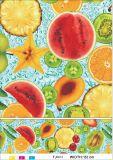 Los diseños populares borran el mantel impreso plástico transparente material del PVC para el uso del hogar/del partido/del Weeding