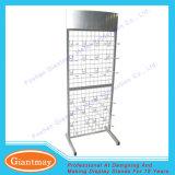 Stand s'arrêtant de supports de fil d'étalage de réseau en métal de supermarché