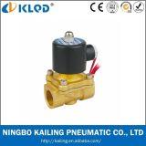 Niedriger Preis-Messingluft-Gas-Wasser-Öl-Magnetventil 220V Wechselstrom