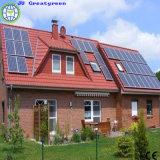 Potência solar da em-Grade do uso da família
