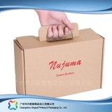 의복 또는 단화 또는 옷 (xc-cbk-001)를 위한 싼 Kraft 종이 포장 상자