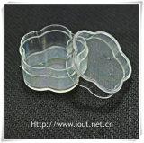 Contenitore trasversale di plastica trasparente operato per il rosario del branello, contenitore di braccialetto del rosario (IO-p013) di rosario di figura