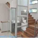 Elevatore domestico di vetro dell'elevatore della villa della famiglia di Deeoo piccolo