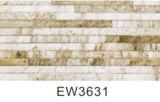Azulejo de piedra de la pared exterior de la mirada