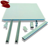 Techo de aluminio acústico de aluminio cuadrado Plafond
