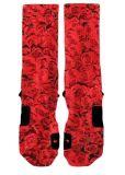 赤いローズの方法服の高品質のエリートのソックス
