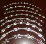 電流を通されたアコーディオン式かみそりの有刺鉄線の十字のタイプBto-22 (軍の機密保護)