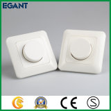 Certificado LED Dimmer Switch con gama completa, blanco
