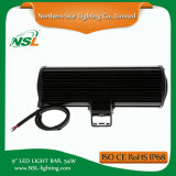 9 '' 54W impermeabilizzano la jeep movente fuori strada della lampada dell'automobile del camion della barra chiara del LED, ATV, UTV, il Ute, SUV. 4WD accessori dell'automobile di barra del CREE LED