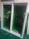 Окно PVC сползая с сетью москита от фабрики в Гуанчжоу