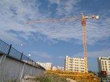Qtz80 (TCT6013-8) queErige o guindaste do Luffing do edifício da construção