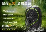 7000mAh imperméabilisent antichoc antipoussière avec la torche et le côté rechargeable multi d'alimentation par batterie de téléphone mobile certifié par RoHS de FCC de la CE de SOS Funcitonal