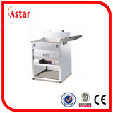 De Braadpan van het gas voor Commerciële Keuken, Elektrische Temperatuur Gecontroleerde Frituurpan voor Verkoop