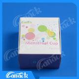 Чашка многоразового силикона пользы 100% медицинского материальная менструальная
