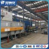 Производственная линия платформа от цвета алюминиевого профиля Electrophresis яркого серебряного