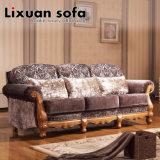 Couch inicial clássica Sofá-americano com amor cadeira do braço do assento