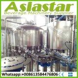 Máquina de enchimento automática da água Monobloc do controle do PLC do aço inoxidável