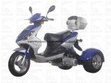 Movimiento elec Trike del disco EPA del Cdi de la motocicleta de Zhenhua Pst150-9 150cc
