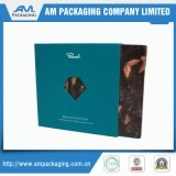 Bunte Fach-Luxuxkästen für Geschenk-Schokoladen-Trüffel schachtelt Verpackung mit freiem Fenster
