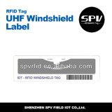 ISO de rasgo 18000-6c do estrangeiro H3 9654 do Tag da etiqueta do estacionamento RFID do carro da freqüência ultraelevada anti
