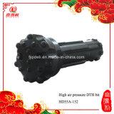Morceau HD55, DHD350, Cop54 de l'alliage DTH de carbure de tungstène