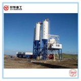 Do concreto intermitente da proteção de ambiente de 60 M3/H planta de mistura de tratamento por lotes com alta qualidade