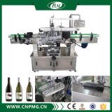 De Machine van de Etikettering van de Sticker van Adheisve van de Fles van de drank met Dubbele Hoofden