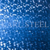 Blatt 201 Edelstahl-silberne Farbe geprägtes Kem007