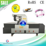 2.5*1.3m de UV Flatbed Printer van de Grootte ABS/Pet/PC/PU/PE