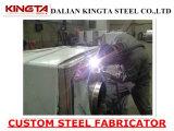 Parte d'acciaio saldata per la strumentazione di industria pesante
